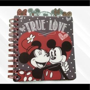 NEW Disney Mickey & Minnie Mouse Note Book